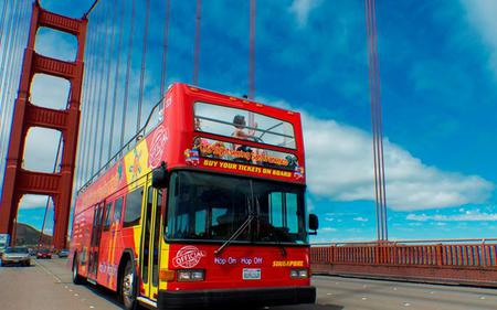 City Sightseeing San Francisco Hop-On, Hop-Off: 24-hour Downtown or Golden Gate Loop Ticket