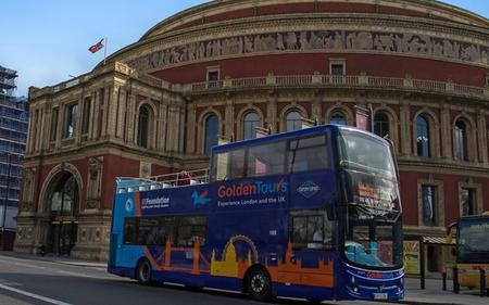 24 Hour London Hop-on, Hop-off Tour with Walking Tour and Cruise – Golden Tours