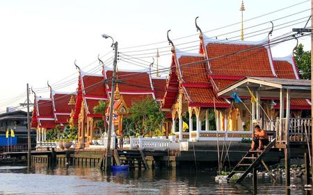 Chao Phraya River Canal Boat Ride and Wat Arun Temple Tour