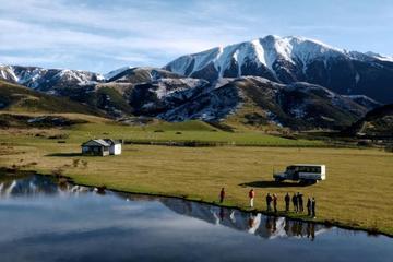Full-Day Alpine Safari 4WD tour including TranzAlpine Train from Christchurch