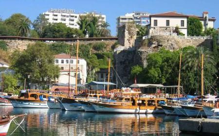 Antalya City Tour with Boat Trip and Waterfalls