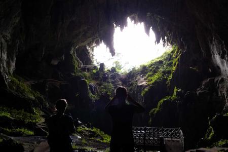Mountain Biking: off road, Gold mine & cave adventure around Kuching