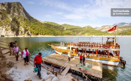 Green Canyon by Boat Trip & Taurus Mountains Tour