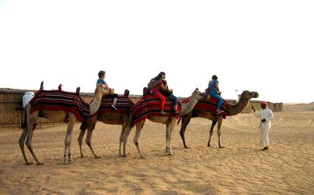 Abu Dhabi: Desert Safari with Quad Biking Experience