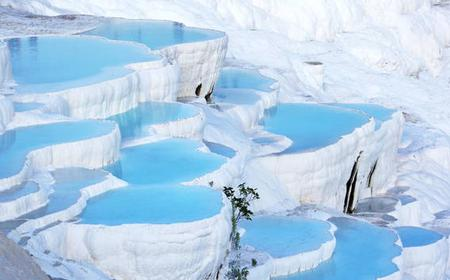 From Kemer and Beldibi: Pamukkale & Hierapolis Day Tour