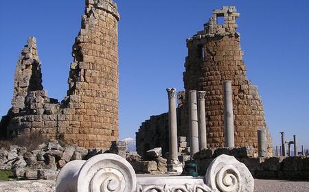 Perga, Aspendos & Side Full-Day Tour from Antalya