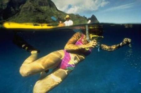 Hanalei Bay Kayak and Snorkel Tour
