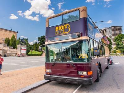 Philadelphia Big Bus Double Decker Sightseeing Tour