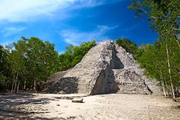 Coba, Tulum Ruins, Cenote and Tulum Beach from Cancun