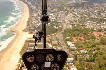 Cook Island and Dolphin Helicopter Flight from the Gold Coast