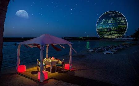Abu Dhabi: Romantic 4-Course Dinner on the Beach