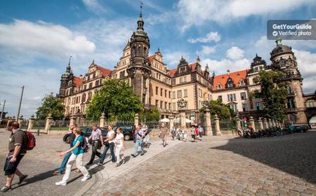 Historical walking tour of Dresden