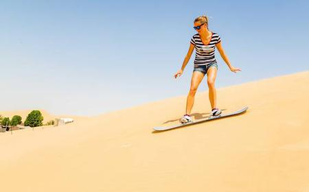 Dubai Morning Safari with Dune Bashing and Sandboarding