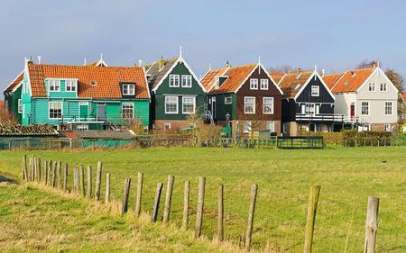 Volendam, Marken, Windmills & Keukenhof Combo Tour