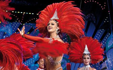 Moulin Rouge Tickets with 1/2 Bottle of Champagne