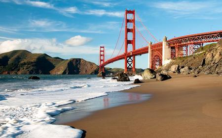 Golden Gate Bridge and Beach Walking Tour, San Francisco