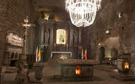 Wieliczka Salt Mine - Guided Tour from Krakow With Free Audio Guide