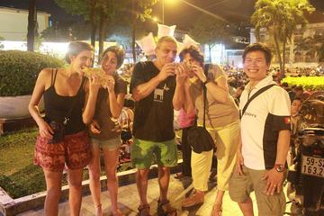 Evening Saigon Foodie Tour with Scooter Ride