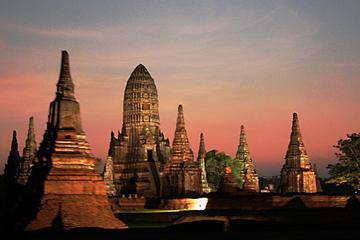 Day Tour to Temples of Ayutthaya by River Cruise and include Buffet Lunch
