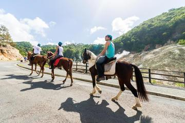 Horseback Volcano Ride in St. Lucia