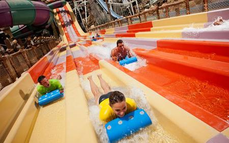 Ferrari World and Yas Waterworld General Admission Combo