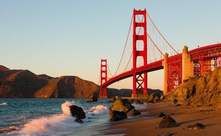 Bridge and the Beach