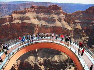 1-Day Grand Canyon West Rim, Hoover Dam & Skywalk Tour from Las Vegas