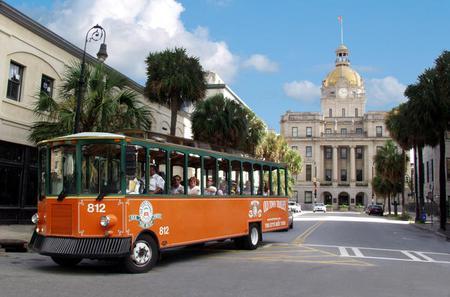 Savannah Hop-on Hop-off Trolley Tour