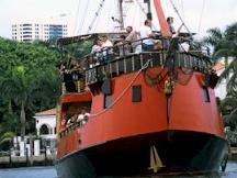 Miami Sightseeing Cruise: El Loro Pirate Boat, The Island Princess Or Manatee II