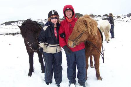 Viking Horse-Riding Tour and Blue Lagoon from Reykjavik