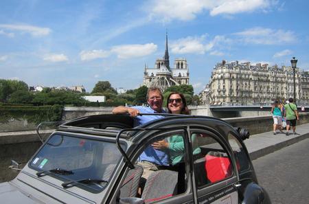 TravelToe Exclusive: Private Paris Tour by Citroen 2CV