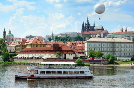 Prague Vltava River Lunch Cruise