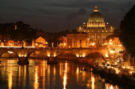 Panoramic Rome by Night Tour