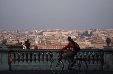 Panoramic Bike Tour of Rome