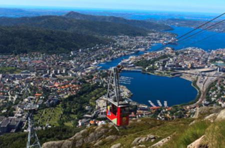 Bergen Shore Excursion: City Sightseeing Bergen Hop-On Hop-Off Tour