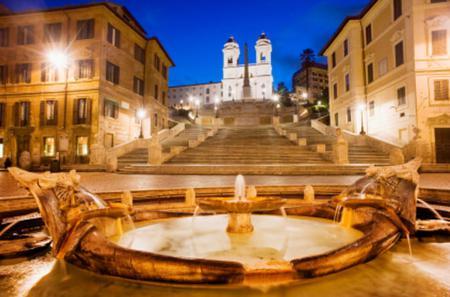 Illuminated Rome Night Tour with Aperitivo