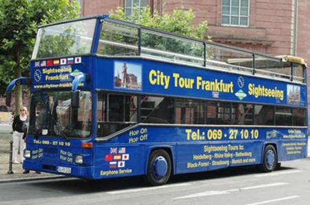 Frankfurt City Hop-On Hop-Off Tour