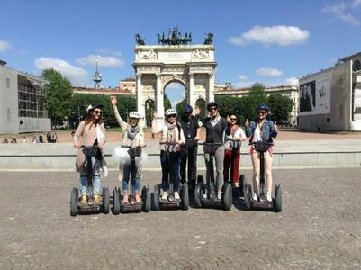 Milan Segway Tour with Audio Guide and Tour Leader