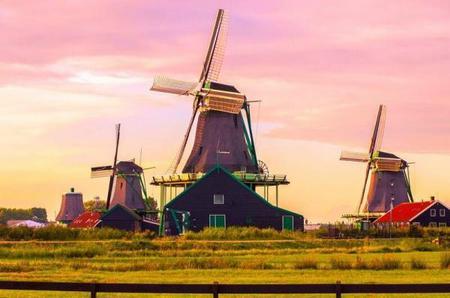 Volendam, Zaanse Schans & Keukenhof Tour