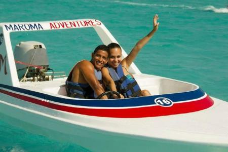 Maroma Speed Boat Adventure