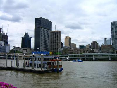 Brisbane City with River Cruise and Wheel of Brisbane