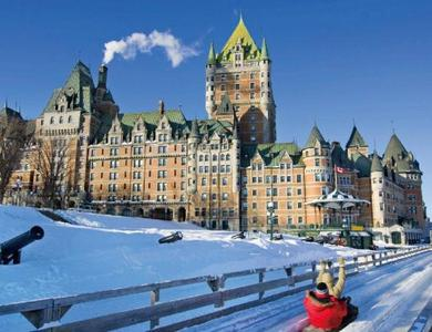 1-Day Quebec City Tour: Montmorency Falls, Chateau Frontenac, Capital Observatory from Montreal