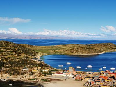 Titikaka Catamaran Day Cruise to Sun Island from Puno to La Paz