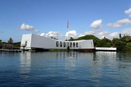 6-Day Romantic Hawaii Tour: Pearl Harbor & Honolulu City, Mini-Circle Island, Polynesian Cultural Center & Island of Maui or The Big Island Tour Package from Ho