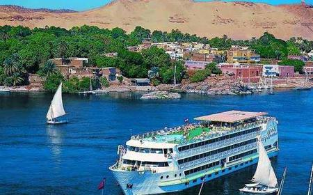 From Cairo: Nile Cruise Aswan/Luxor by Overnight Train