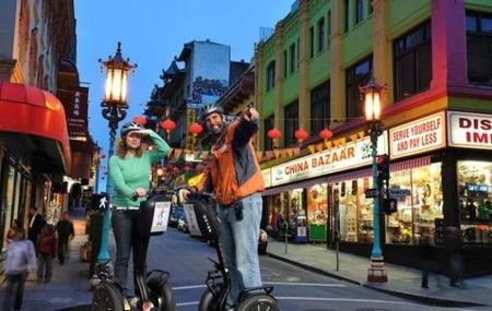 San Francisco Segway Night Tour of Chinatown, North Beach Little Italy, Wharf and Waterfront