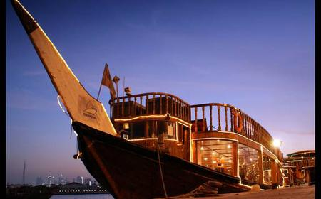 Dubai: 2-Hour Evening Dhow Cruise with Buffet Dinner