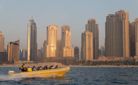 Dubai Marina & Palm Lagoon 45-Minute Evening Boat Tour