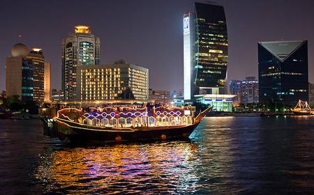 Dubai Creek Dhow Dinner Cruise with Transfers