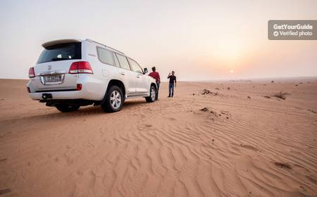 Evening Desert Safari from Dubai and Sharjah